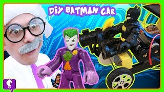 DIY Remote Control BATMOBILE with HobbyHarry