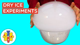 Best Dry Ice Experiments | Simple Science Experiments | Lab 360 - Science Experiments