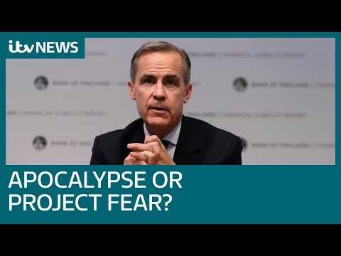 Bank of England warn of no deal Brexit cost | ITV News