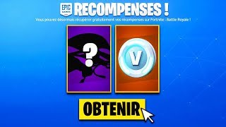 "PLEASE RE-RETER this ""FREE CADEAU"" in the BOUTIQUE before WEEK on FORTNITE! 😱 (VITE)"