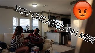 CHEATING ON HUSBAND PRANK ( GETS EMOTIONAL !!!)