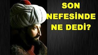 Fatih Sultan Mehmet Khan's Death And Conspiracy Theories