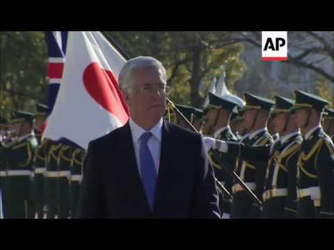 Japan defence minister welcomes UK counterpart
