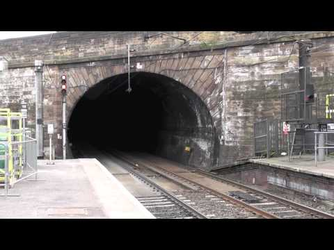 D9009 storms out of Haymarket tunnel, 06/04/13