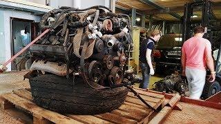 Купили V8, будем ставить в УАЗ. Буханка на новых колесах