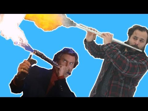 I Tried Blowing Fire Out Of My Flute Like Ron Burgundy