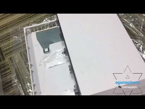replacement white ps4 console shell full housing from egamephone