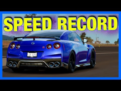 Forza Horizon 3 : LAND SPEED RECORD!!