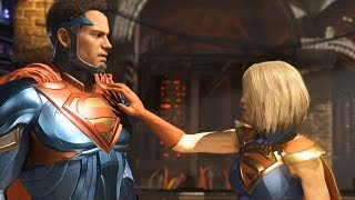 Injustice 2 - Superman vs Supergirl (Story Battle 69) [HD]