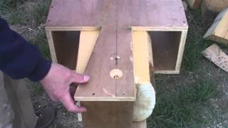 Attaching Dovetail Jig To Log