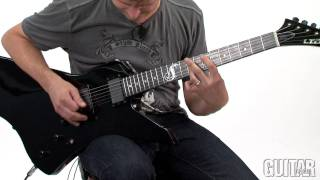 ESP LTD James Hetfield Snakebyte - Sounds