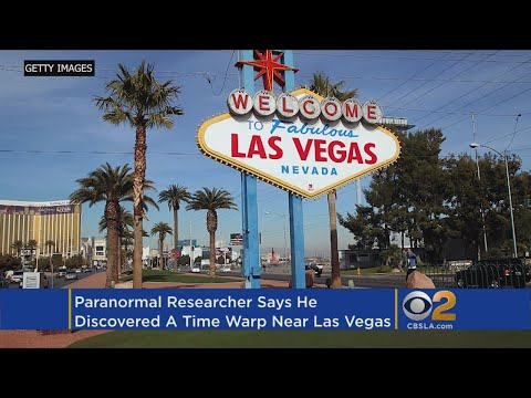 Paranormal Investigator Claims To Find 'Time Warp' Near Las Vegas