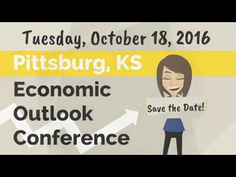 2016 Pittsburg Kansas Economic Outlook Conference - SAVE-THE-DATE