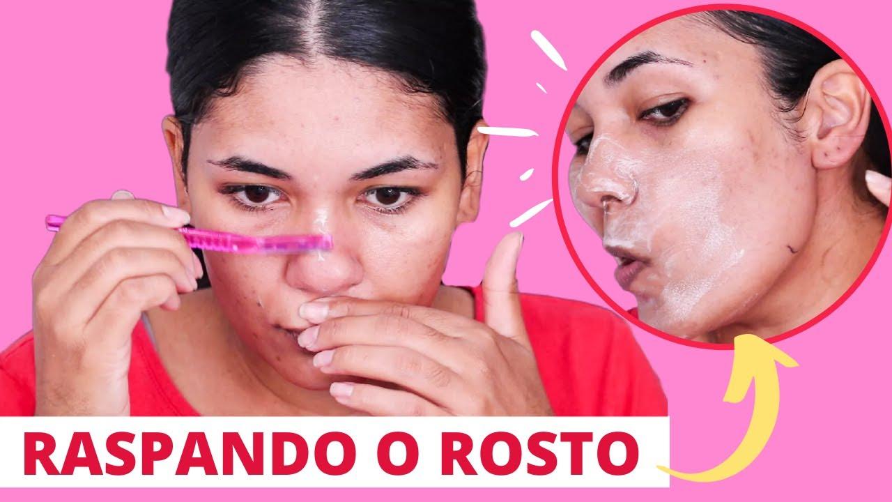 Como raspar o rosto e não engrossar os pêlos