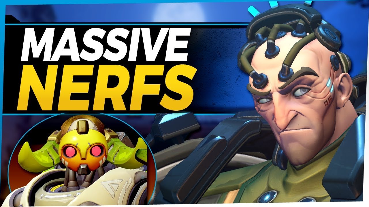 Overwatch Massive Nerfs - Sigma Orisa Brigitte - Buffs for Pharah Symmetra