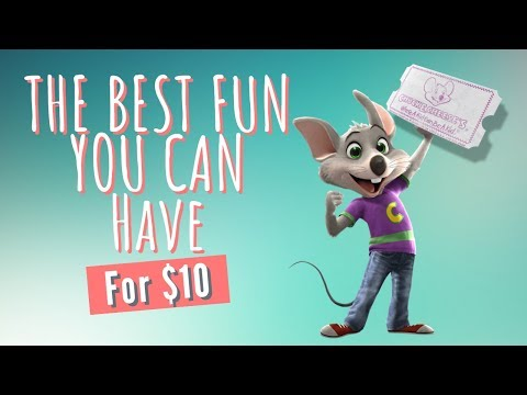Chuck E Cheese's Happy Dance With Friends