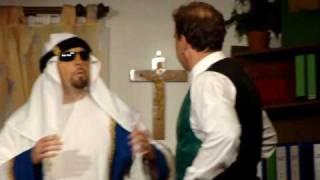 Orient trifft Okzident - ein Scheich aus Saudi Arabien taucht auf .....