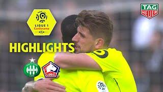 AS Saint-Etienne - LOSC ( 0-1 ) - Highlights - (ASSE - LOSC) / 2018-19