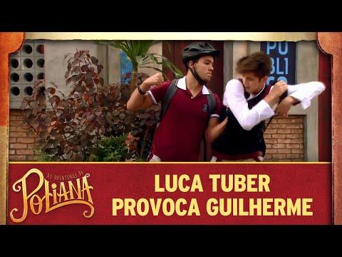 Luca Tuber provoca Guilherme | As Aventuras de Poliana