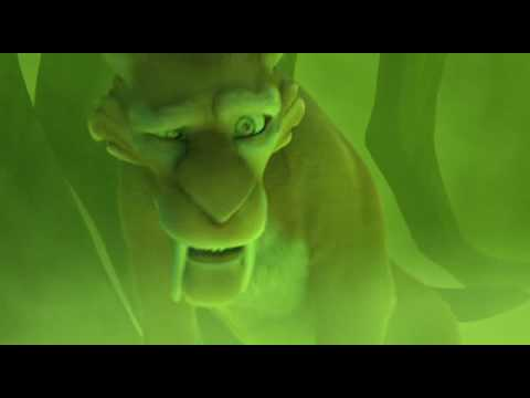 Ice Age 3 Laugh gas scene