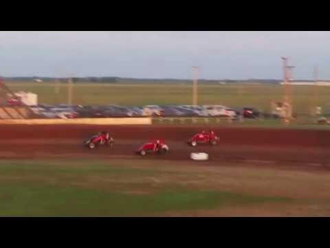 Lawton Speedway WOW Heat #2 5/28/2016