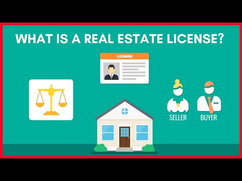 What is a real estate license? Real Estate Exam Topic