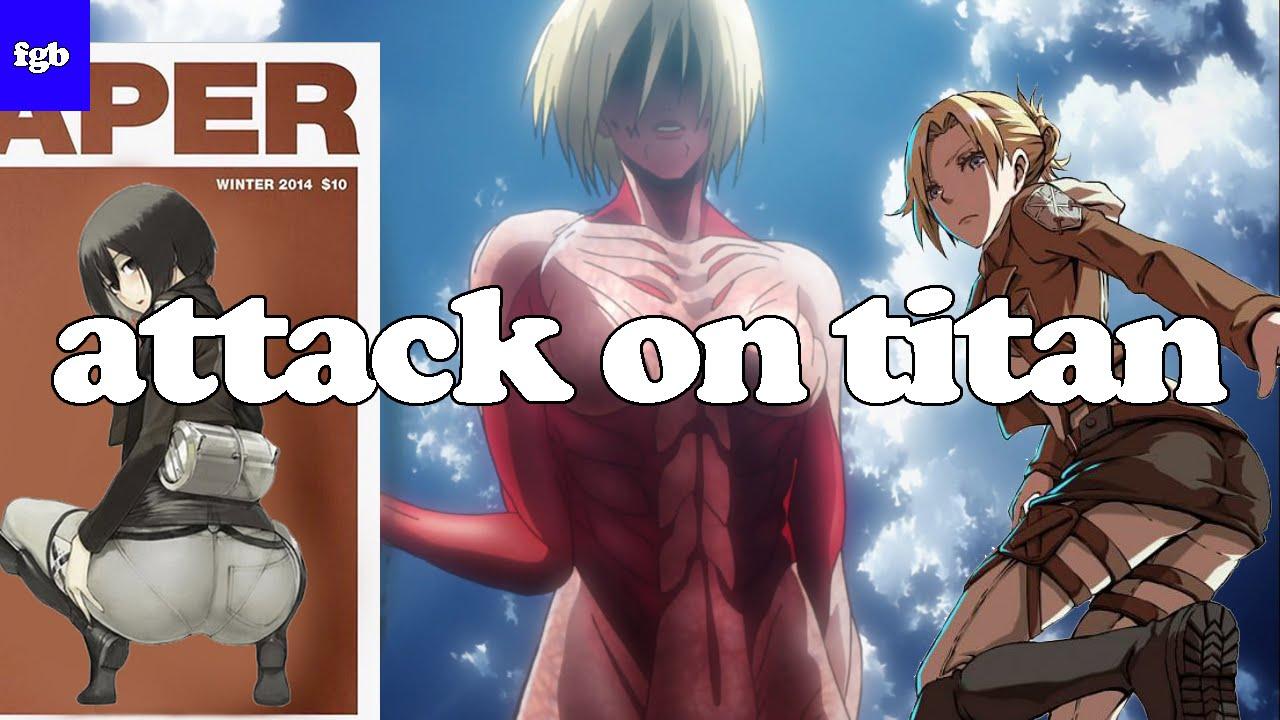 Fine Game Girls Presents – Attack on Titan – Annie / Mikasa / Female Titan