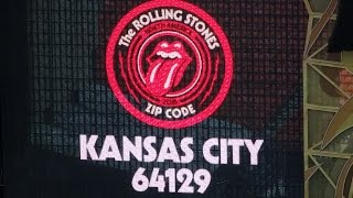 Rolling Stones Kansas City Zip Code 64129 show opening at Arrowhead Stadium 2015-06-27