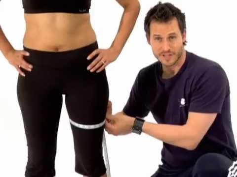 How to Take Your Body Measurements - YouTube