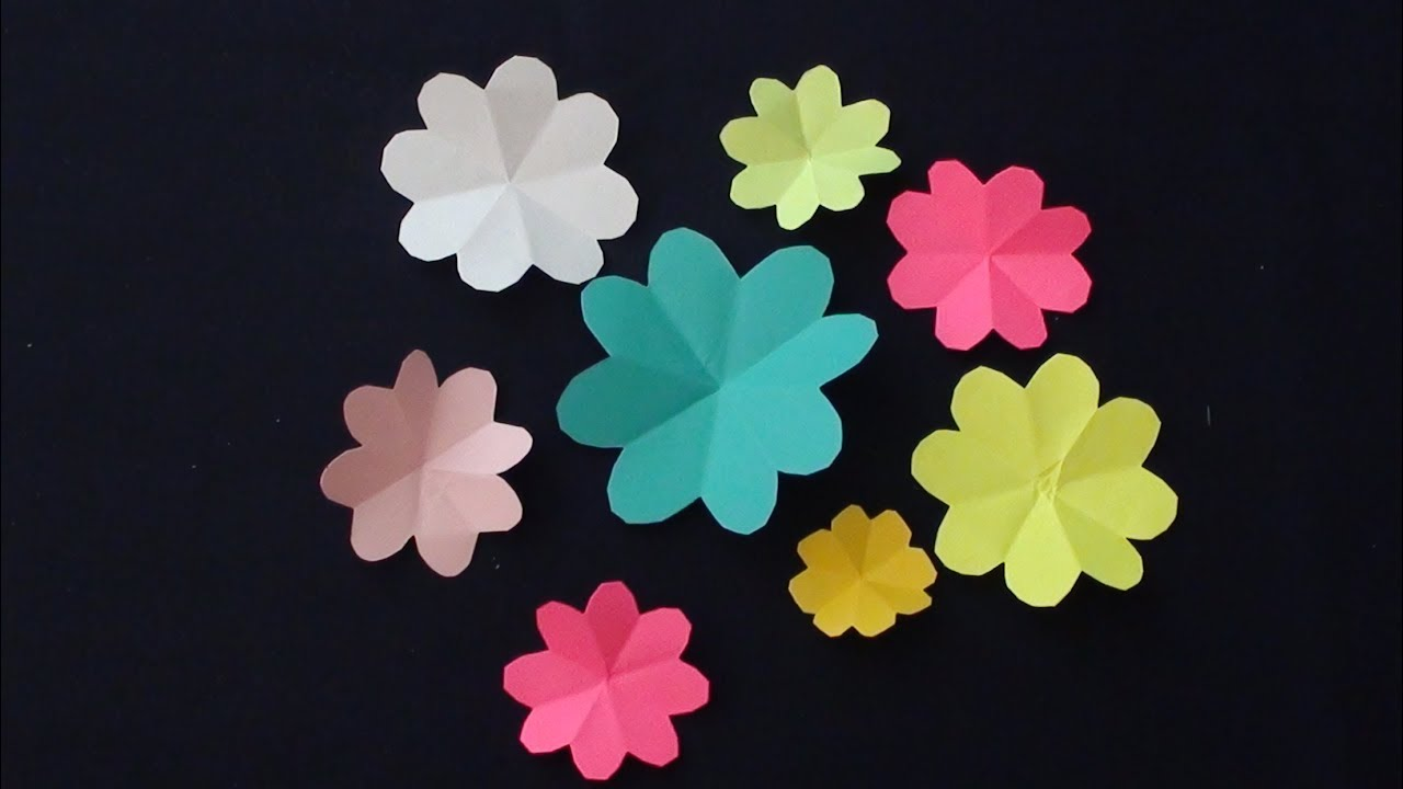 How to make beautiful paper flowers very easy and simple to make how to make beautiful paper flowers very easy and simple to make paper flowers for decoration mightylinksfo