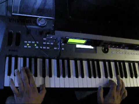 Russian Privjet played  on keyboard  Through MotifRack