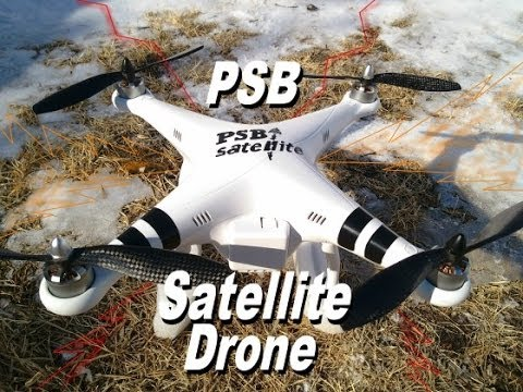PSB Satellite Logo Drone -DJI Phantom