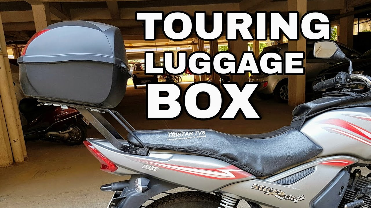 STUDDS TOP BOX -- Back-Side Luggage Box For any Bike/Scooter | Full Installation Guide - India