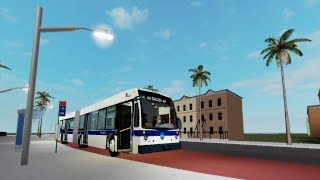 Roblox: Fahren einer NTA 2014 Novabus LFSA #8401 auf der Route n35 Local to Liberty Ave West Station