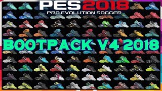 PES 2018 BOOTPACK V4 2018 BY T09   PREVIEW & INSTALLATION BY TR