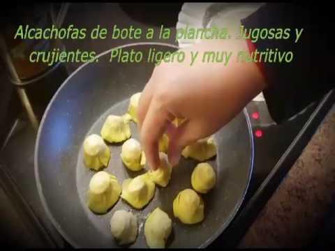 Como hacer alcachofas de lata