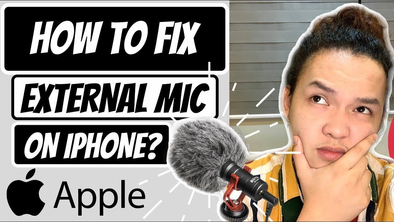 EXTERNAL MICROPHONE NOT WORKING ON IPHONE FIXED! | FOR BOYA, SENDA, RODE and OTHER MICROPHONES