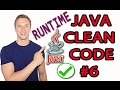 Java Clean Code Tutorial #6 - Exception Handling - Prefer Runtime Exceptions