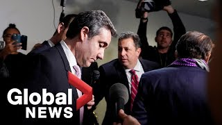 Michael Cohen: 'I'm going to let the American people decide exactly who is telling the truth'