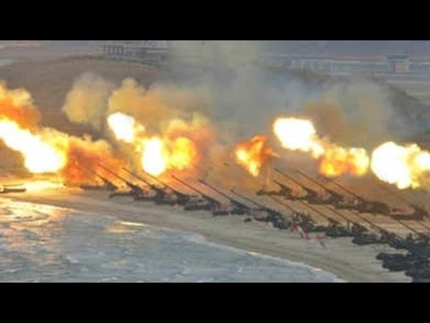 DPRK conducts massive firing drills on army anniversary day