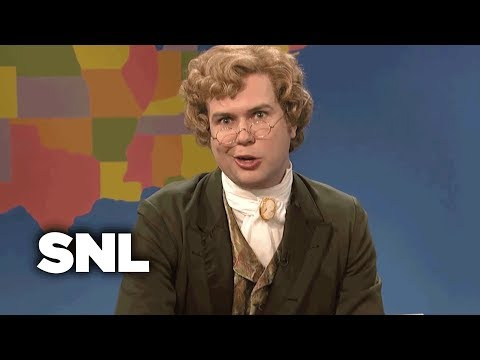 Weekend Update: Jebediah Atkins on Holiday Movies  SNL