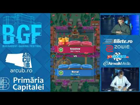 FINALA BGF CLASH ROYALE ROMANIA BUCHAREST GAMING FESTIVAL(BGF)