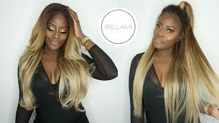 One of Breeny Lee's most viewed videos: HOW TO GO BLONDE! CLIP-INS TO WIG TRANSFORMATION | BELLAMIHAIR