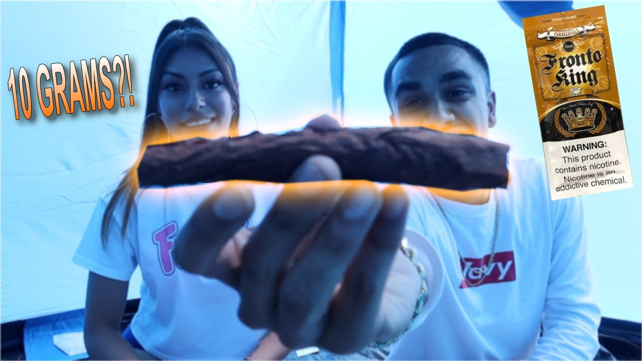 10 GRAM FRONTO LEAF IN A TENT!