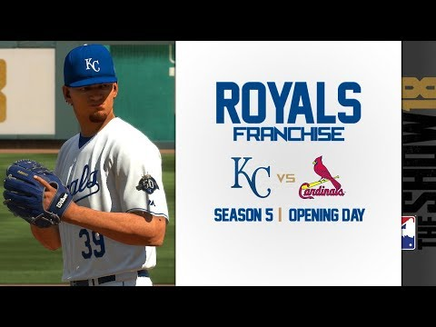 Royals Franchise vs Cardinals S5  Opening Day 2022!  MLB The Show 18