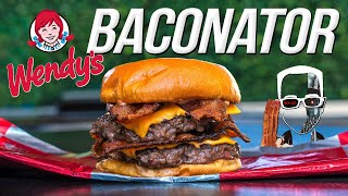 Wendy's Baconator Burger  But Homemade... & WAY BETTER! | SAM THE COOKING GUY 4K