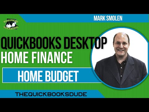 QuickBooks Home Finance – Budget