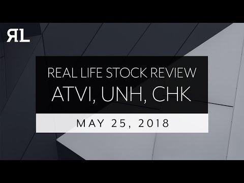 Real Life Stock Review May 25th, 2018