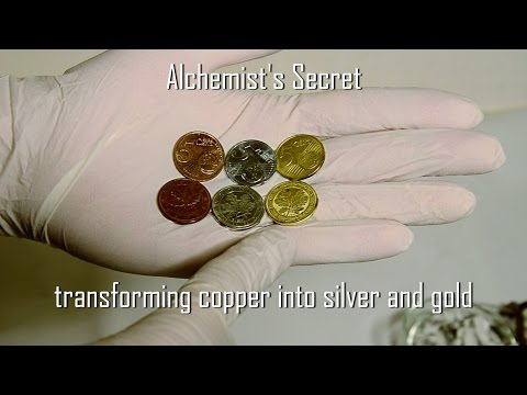 Alchemist's Secret: transforming copper into silver and gold