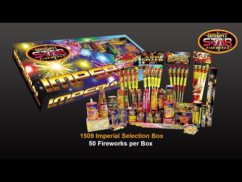 Bright Star Fireworks - 1509 Imperial Selection Box